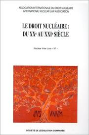 Cover of: Le droit nucleaire