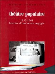 Cover of: Théâtre populaire, 1953-1964