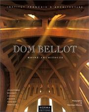 Cover of: Dom Bellot