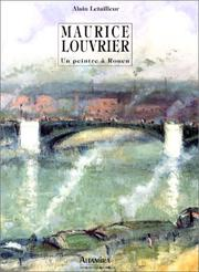 Cover of: Maurice Louvrier