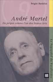 Cover of: André Martel