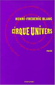 Cover of: Cirque univers