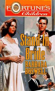 Cover of: Stand - In Bride (Fortune