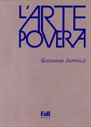 Cover of: L' arte povera