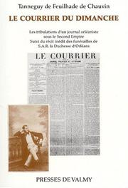 Cover of: Le Courrier du dimanche