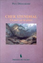 Cover of: Cher Stendhal