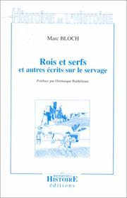 Cover of: Rois et serfs