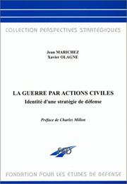 Cover of: La guerre par actions civiles