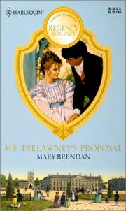 Cover of: Mr. Trelawney'S Proposal (Readers Choice)