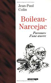 Cover of: Boileau-Narcejac
