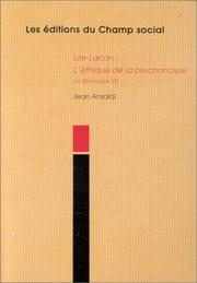 Cover of: Lire Lacan