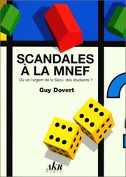 Cover of: Scandales à la MNEF