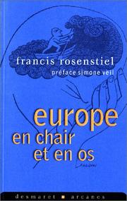Cover of: Europe en chair et en os