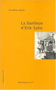 Cover of: La banlieue d'Erik Satie
