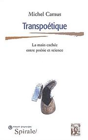Cover of: Transpoétique