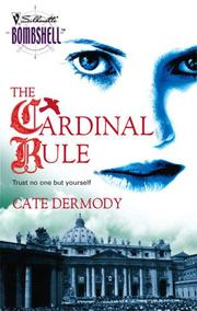 Cover of: The Cardinal Rule