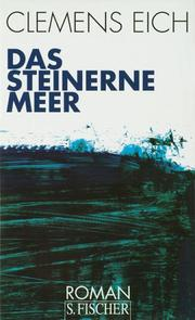 Cover of: Das steinerne Meer