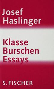 Cover of: Klasse Burschen