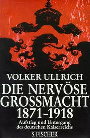 Cover of: Die nervöse Grossmacht