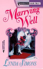 Cover of: Marrying Well (Yours Truly)