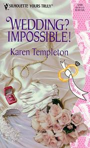 Cover of: Wedding Impossible  (Weddings Inc)