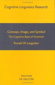 Cover of: Concept, image, and symbol | Ronald W. Langacker