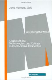 Cover of: Reworking the World |