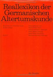 Cover of: Reallexikon Der Germanischen Altertumskunde