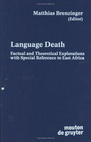 Cover of: Language death |