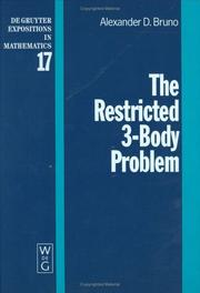 Cover of: The Restricted 3-Body Problem
