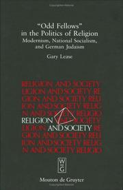 "Cover of: ""Odd fellows"" in the politics of religion"