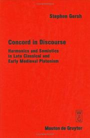 Cover of: Concord in discourse