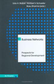 Cover of: Business networks |