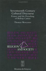 Cover of: Seventeenth-century cultural discourse | Thomas Worcester