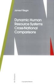 Cover of: Dynamic human resource systems