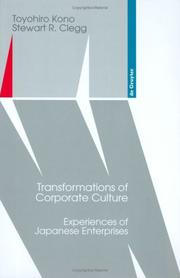 Cover of: Transformations of corporate culture