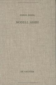 Cover of: Modell Assisi