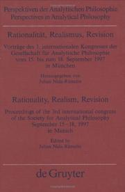 Cover of: Rationalität, Realismus, Revision