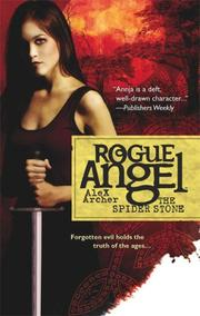 Cover of: The Spider Stone (Rogue Angel)