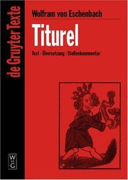 Cover of: Titurel (De Gruyter Texte)