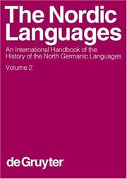 Cover of: The Nordic Languages |
