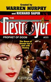 Cover of: Prophet Of Doom (Destroyer 111) (Destroyer , No 111)