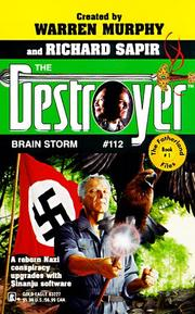 Cover of: Brain Storm (Destroyer #112) (Destroyer , No 112)