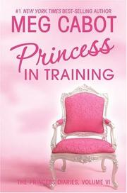 Cover of: Princess in training