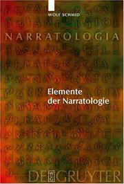 Cover of: Elemente der Narratologie (Narratologia)