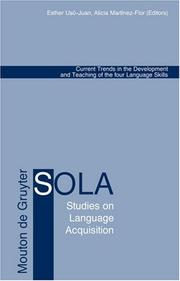 Cover of: Current Trends in the Development And Teaching of the Four Language Skills (Studies on Language Acquisition) |