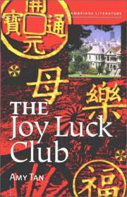 Cover of: The Joy Luck Club. Text mit Materialien.