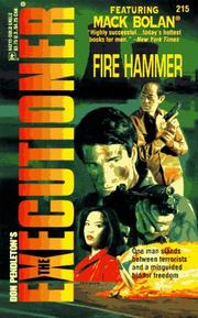 Cover of: Fire Hammer | Don Pendleton