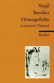 Cover of: Bucolica. Hirtengedichte
