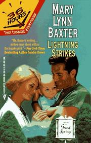 Cover of: Lightning Strikes (36 Hours)